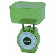 Весы кухон. HomeStar HS-3004M (зеленые) до 1кг, деление 20гр, объем чаши 400мл, 2796