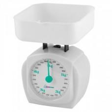 Весы кухон. HomeStar HS-3005M (белые) до 5кг, деление 40гр, 2801