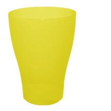 Бокал 0,5л желтый-прозрч. АЛЕАНА