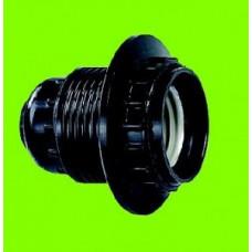 ASD Патрон E27 карболит люстровый с кольцом IP20
