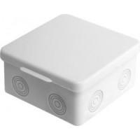 uplast коробка распред. 85х85х50мм ОУ 7 вводов с крышкой IP54 030-035