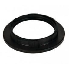 Ecola кольцо дополнительное к патрону E27 Черный УП.100шт!! RB7SPBEAY