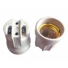 Ecola патрон керамический E27 Белый AB7SCWEAY