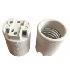 Ecola патрон керамический E40 Белый AB8SCWEAY