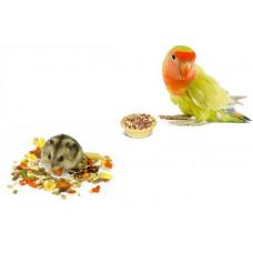 Корма для птиц и грызунов