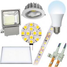 Лампы и ленты электрические