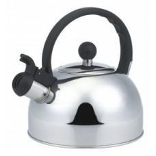 Чайник металлический со свистком (0,4мм) 3л, ручка бакелит, DJA-3033, 900058 Mallony
