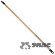 Черенок для метлы с пластиковой резьбой (D25мм)