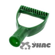 Ручка для снеговой лопаты №1 d 32 мм зеленая
