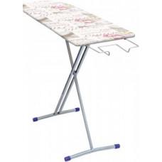 Доска гладильная Nika5, 122,5*34,5см, h=80см, стол/фанера, подставка п/утюг, арт.Н5, Nika