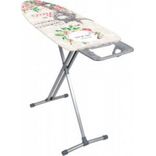 Доска гладил Nika10, 122*40см, h=до90см, стол/мет.моноблок, подставка п/утюг, удл.2,2м, Н10 Nika