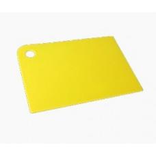 Доска разделочная Grosten 345*245*2мм, гибкая, цвет охра, PT1112/КОХР-30/ШК3457 Plast team