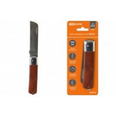 TDM Нож электрика НЭ-01, 205мм деревяная рукоятка SQ1003-0105