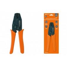 TDM КО-5Е клещи обжимные, ручка диэл. пластик 0,5-6мм2 (для наконеч.-гильз типа Е) SQ1001-0002