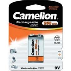 Аккумулятор Camelion 6F22 250mAh 9V Ni-MH BL1