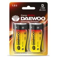 Элемент питания Daewoo Energy LR20/373 NEW BL2