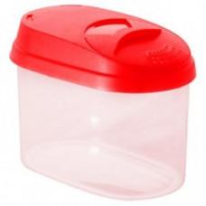Банка для сыпучих продуктов Optima 0,8л микс ПЦ/GR3610 Plastic Centre/Giaretti