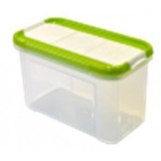Банка для сыпучих продуктов с дозатором Krupa 0,75л оливковый GR2235ОЛ Giaretti