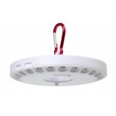 Smartbuy фонарь кемпинговый SBF-8254-W (3xR6) 48св/д, белый/пластик, карабин, магнит, НЛО BL1