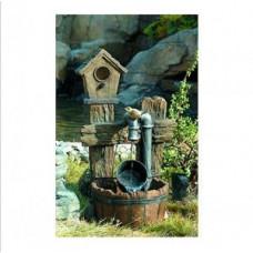 GWXF02400-S Green Apple Фонтан садовый Лесной дом 73,5см