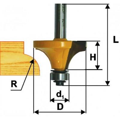 Фреза кромочная калевочная (аналог 46239)