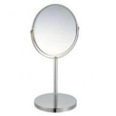 Зеркало косметич. d=17см, h=35см, хром, 2-х ст., (1/X5), 310451, Рыжий Кот