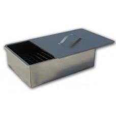 Коптильня 1 ярусн. Гурман-1 350*250*100 (сталь 0,6мм) в г/карт. Бастион-пром