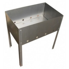 Мангал Шашлычник 700*300*700 (сталь 0,7мм) в г/карт. Бастион-пром