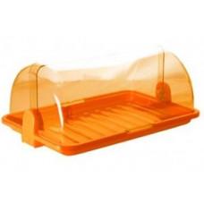 Хлебница средняя (38,5*26*16,5см), пластик, микс ПЦ1670 Plastic Centre