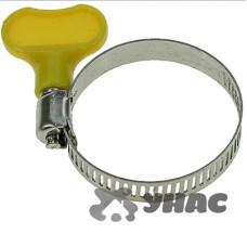 Хомут 21-38мм/8мм NA1772-4 бабочка пластик (ЦЕНА за 100шт)