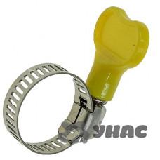 Хомут 12-22мм/8мм NA1772-1 бабочка пластик (ЦЕНА ЗА 100шт)
