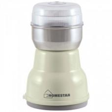 Кофемолка HomeStar HS-2001, 160Вт, 50г, бежевая 500