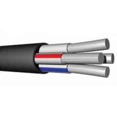 Кабель АВВГ 2х2,5 (ГОСТ) (ККЗ, Калужск. каб. завод) силовой алюмин. черный дв. изоляция ПВХ