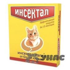 Инсектал Капли для кошек и собак от 2 до 4 кг N101