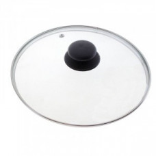 Крышка d=18см, стекло/металл/пластик, метал.обод, паровыпуск, 987022, Mallony