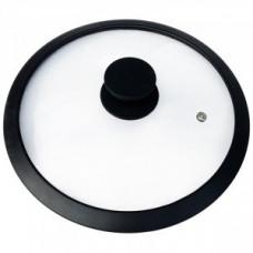 Крышка d=24см, CAPPELLO стекло, обод/ручка силикон, паровыпуск, 3544, Mallony