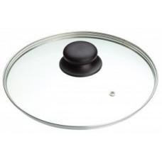 Крышка d=22см, стекло/металл/пластик, метал.обод, паровыпуск, 987016, Mallony