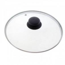 Крышка d=16см, стекло/металл/пластик, метал.обод, паровыпуск, 987021, Mallony