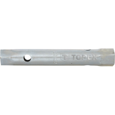 Ключ торцевой двухсторонний трубчатый 20x22,TOPEX