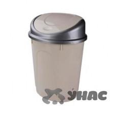 Контейнер для мусора 8л овальный СЛ.КОС БШ4166