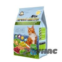 Ночной охотник Корм сухой для стерилизованных кошек и кастрированных котов пакет 1,5кг