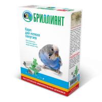 БРИЛЛИАНТ 500гр Корм для мелких попугаев NEW, Растительно-минеральные добавки, Картонная белая коробка Штрихкод 0138