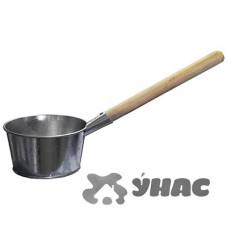 Ковш 1,5л оцинкованный банный (Омутнинск)