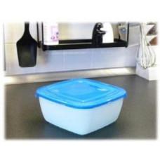 Емкость для СВЧ и хранения продуктов Polar microwave 1,5л, квадратн, PT9676 Plast team