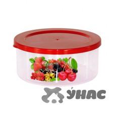 """Емкость для СВЧ 0,5л """"СМАК"""" (ягоды) БШ2012"""