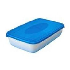 Емкость для СВЧ и хранения продуктов Polar microwave 0,45л, прямоуг, PT9670 Plast team