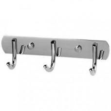 Вешалка для ванной с 3-мя крючками, нержавеющая сталь, SSA-017-3, 310788, Рыжий Кот