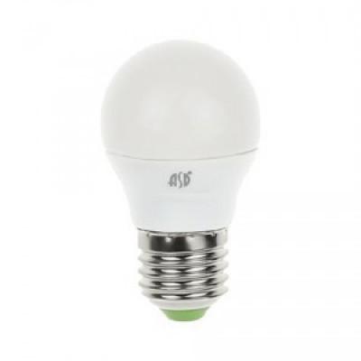 ASD Шар P45 E27 7.5W 4000К 4K 78x45 пластик/алюм standard 3993
