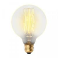 Uniel G95 E27 60W Шар винтажная лампа накаливания IL-V-G95-60/GOLDEN/E27 VW01