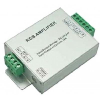 Ecola Усилитель для RGB ленты 12A 144W 12V (288W 24V) AMP12AESB